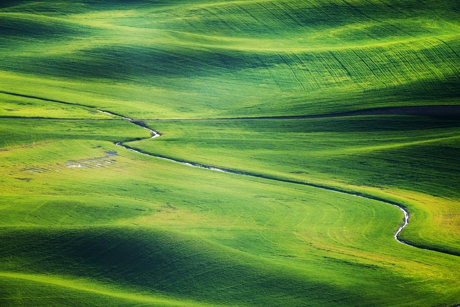 golf course fairway and green in Colorado